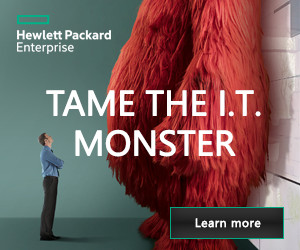 Tame the I.T Monster with HPE