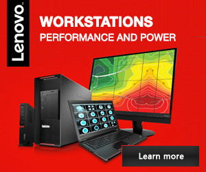 Lenovo Workstations providing performance and power