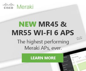 NEW Meraki Wifi 6 APs - The highest performing Meraki APs, ever