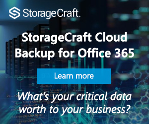 StorageCraft Backup for Office 365