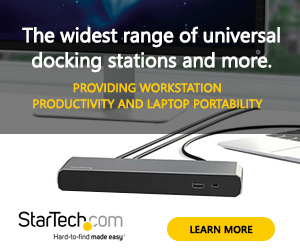 Startech.com - the widest range of universal docking stations and more!