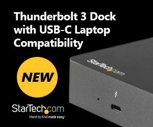NEW Startech Thunderbolt 3 Dock with USB-C