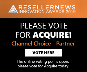 Please vote for Acquire in the 2019 Reseller News Innovation Awards!