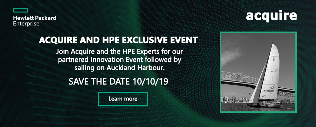 Acquire and HPE Innovation Event
