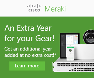 Meraki Promotion - First Year on Meraki!