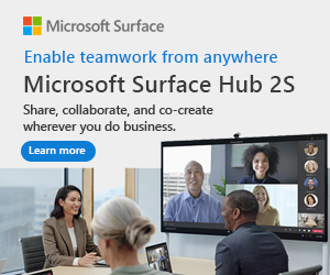 Surface Hub 2S - Enable teamwork anywhere