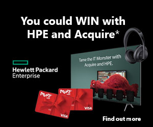 You could WIN with HPE and Acquire*