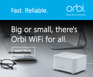 Orbi by Netgear - Fast. Reliable. Worry-free WiFi.