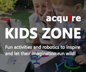 Acquire Kids Zone - Fun activities and robotics for learning at home