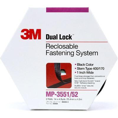 3M 70070415990 3M Dual Lock Fastener MP3551/52 25mm