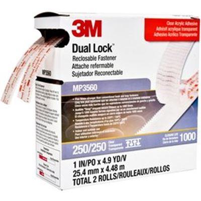 3M dual lock MP3560 clear 25MM X 4.5M 2PK mini-pack (70070428456)