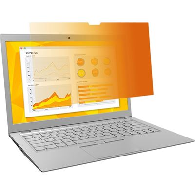 """3M # Gold Privacy Filter for 14.0"""" Laptop with (98044066201)"""