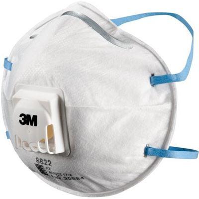 3M WX700900359 Respirator Valved Particulate 8822
