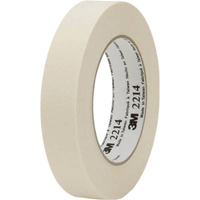 3M XG700007949 3M Paper Masking Tape 2214 24mm x