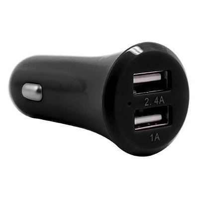 3SIXT Dual USB Car Charger 3.4A - Black