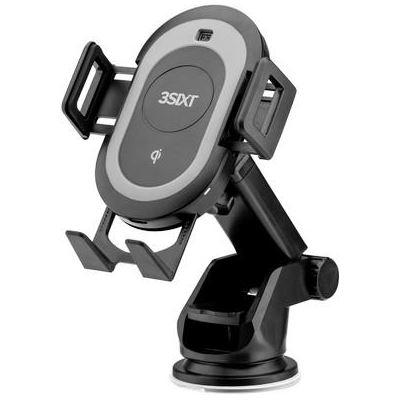 3SIXT Qi Wireless Motorised Car Charging Cradle - 7.5W-10W