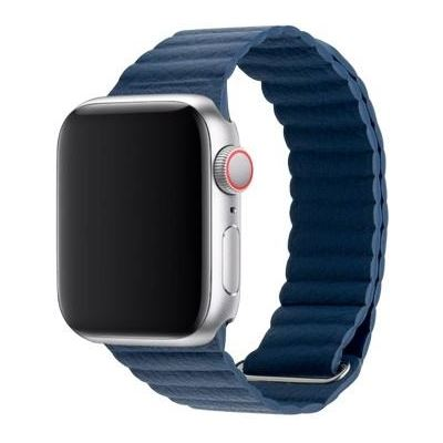 3SIXT Leather Loop Band - Apple Watch 42/44mm - Blue