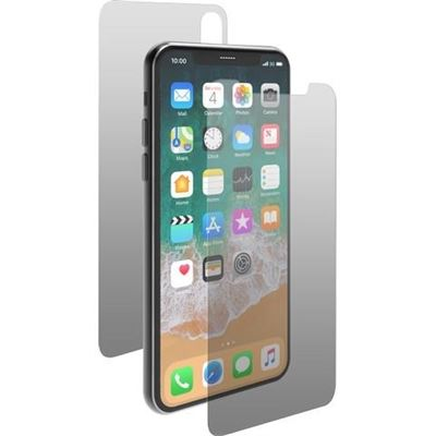 "3SIXT Front & Rear Gorilla Glass -New iPhone 2018 6.5""-Clear"