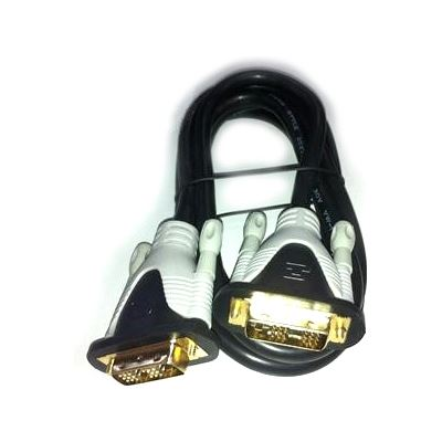 8 Ware 8Ware 2M DVI-D (18+1) Single Link M-M Cable gold-plated connectors