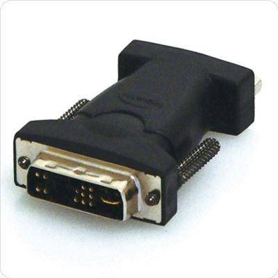 8 Ware DVI 17M (Analogue) to VGA HD15F Adaptor