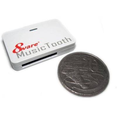 8 Ware 8ware MusicTooth Wireless Music Adapter for iPhone/iPod & Smartphone Docking