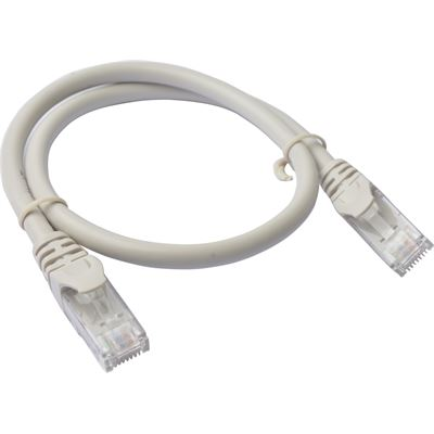 8 Ware Cat 6a UTP Ethernet Cable; Snagless - 0.25m (25cm) Grey