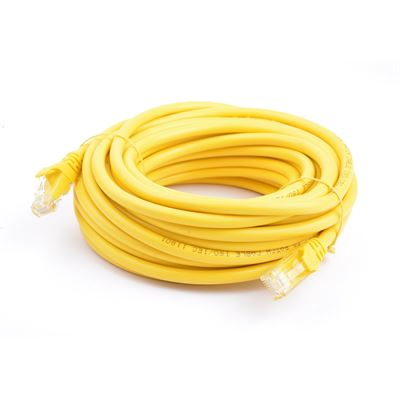 8 Ware Cat 6a UTP Ethernet Cable; Snaglessÿ - 10m Yellow