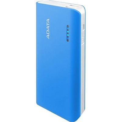 A-Data ADATA PT100 10,000mAh Powerbank with Flashlight - Blue/White