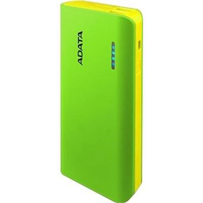 A-Data ADATA PT100 10,000mAh Powerbank with Flashlight - Green/Yellow