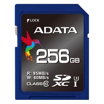 A-Data ADATA Premier Pro V30 UHS-I U3 SDXC Card 256GB