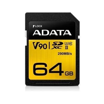 A-Data ADATA Premier ONE UHS-II SDXC Card 64GB