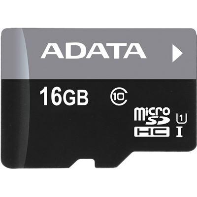 A-Data ADATA PREMIER 16GB MICRO SDHC/SDXC UHS-I CLASS 10 W/1 ADAPTER SEQ READ/WRITE