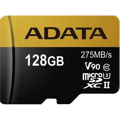 A-Data Premier ONE V90 UHS II Micro SDXC Card 128GB