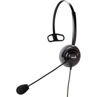 Addcom 300 USB Mono Headset With Noise Cancelling