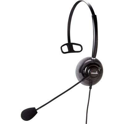 Addcom Mono Headset With NC With USB Lync Cable