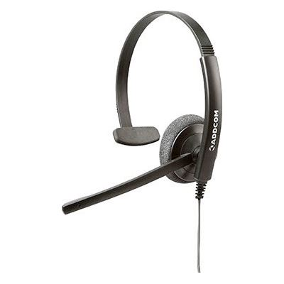 Addcom ENTRY LEVEL MONAURAL HEADSET. COMFORTABLE GETS THE JOB DONE AND DOESN T BREAK