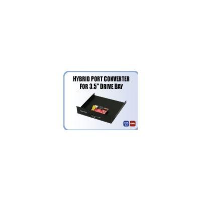 "Addonics Hybrid Port converter for 3.5"" bay"