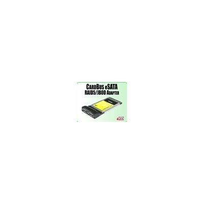 Addonics CardBus RAID5/JBOD eSATA controller