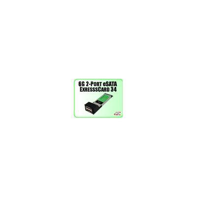 Addonics 6G 2-port eSATA ExpressCard 34