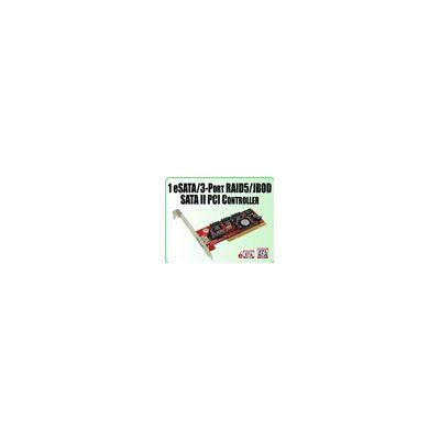 Addonics 1 eSATA/ 3 SATA II RAID5/JBOD PCI controller