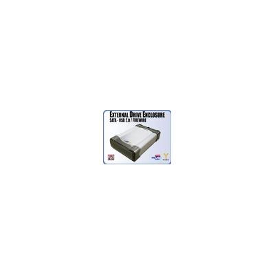 Addonics External Drive Enclosure, SATA - USB 2.0/Firewire