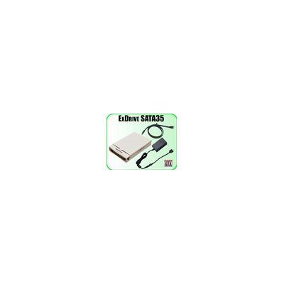Addonics ExDrive SATA35, ABS ivory, SATA-eSATA cb