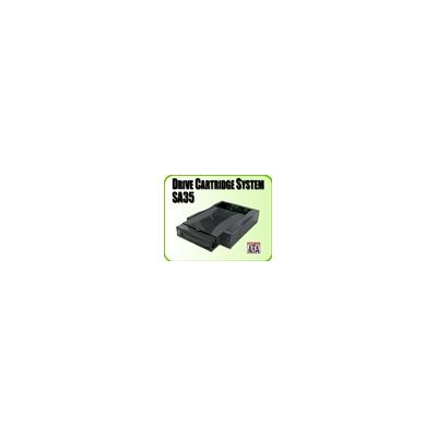 "Addonics External DCS for 3.5"" SATA hdd, ABS plastic black colour"