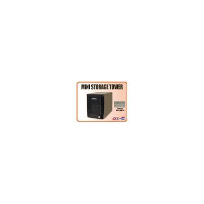 Addonics Mini Storage Tower with JBOD USB2.0 interface, black