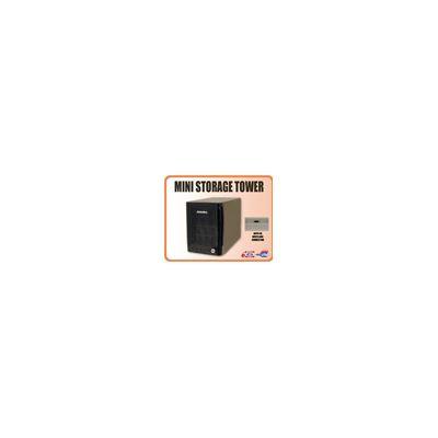 Addonics Mini Storage Tower with 4X MultiLane interface, black
