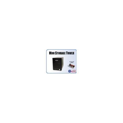 Addonics Mini ST with 4-port RAID5 HPM - eSATA/USB, black