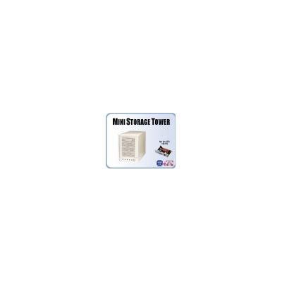 Addonics Mini ST with 4-port RAID5 HPM - eSATA/USB, white