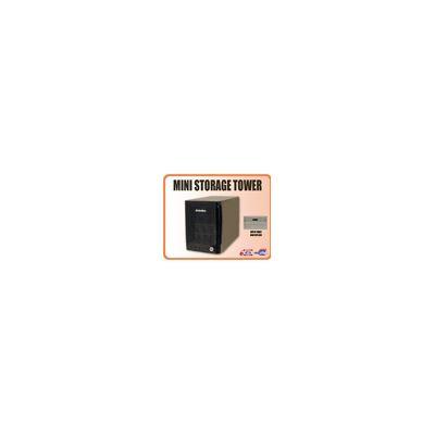 Addonics Mini Storage Tower with 5X1 PM-eSATA interface, black