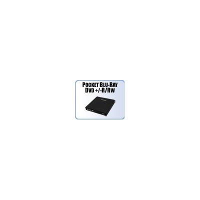 Addonics Pocket Blu-Ray/DVD-RRW with eSATA/USB, black annodized aluminum
