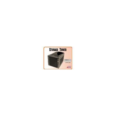 Addonics Storage Tower (black) with 4-port HPM XA